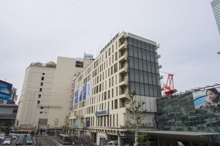 涩谷站西出口的免费图片素材