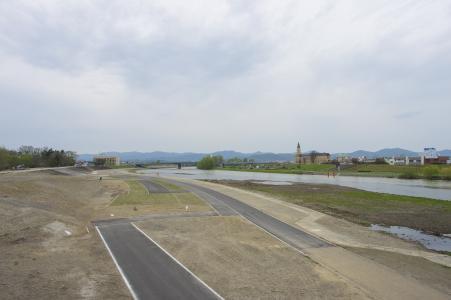 来自旭桥的旭川风光免费照片