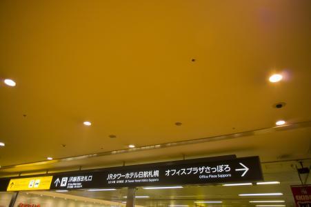 札幌站导游免费照片