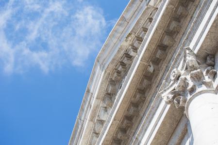 威尼斯大教堂建筑细节