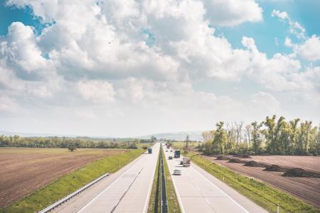 欧洲高速公路包围的领域