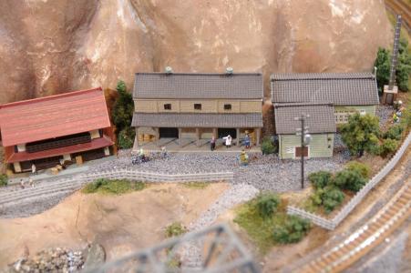 建筑和铁路免费股票照片模型
