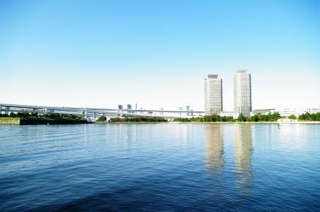Odaiba海滩公园免费图片