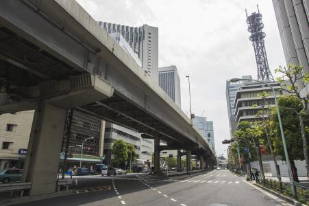 在Tameike Sanno附近的六本木街道免费图片