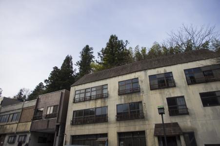 大厦在日光市免版税库存照片