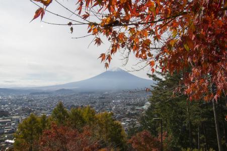 富士和秋叶免费图片