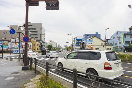 在JR岐阜站南口入口处免费拍摄照片