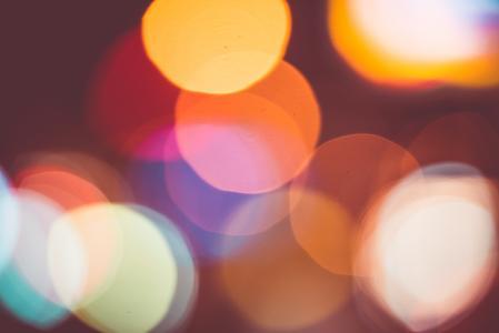 大和真正的光抽象多彩景背景