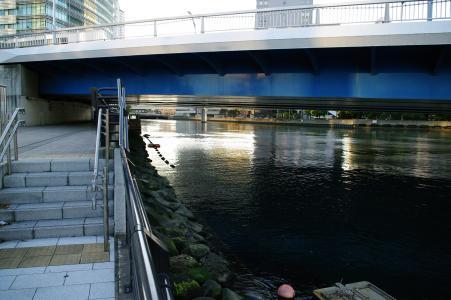 高岛水线公园(港未来)的正版照片