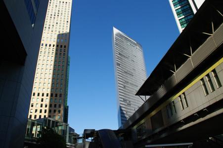 大厦(汐留站附近)免费图片