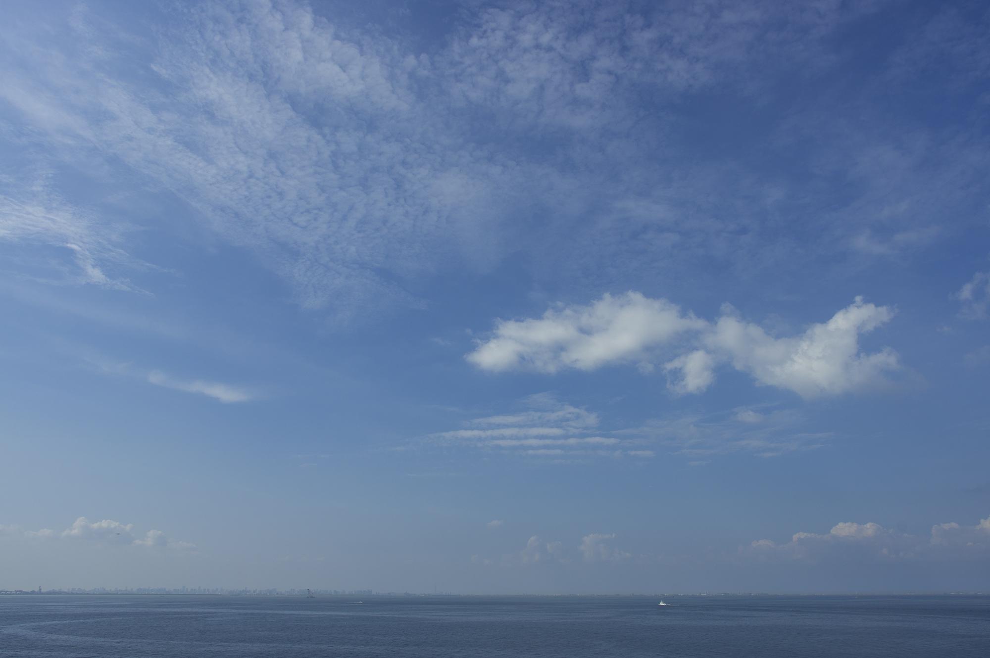 没有从Umihotaru看到的东京湾材料