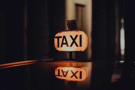 出租车上的顶灯