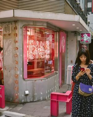 东京原宿街头行人