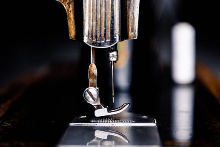 缝纫机特写图片