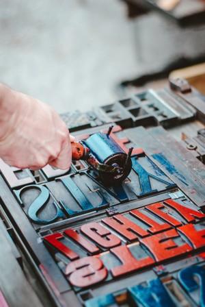 古老的凸版印刷技术