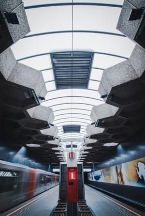 地铁空间设计效果图