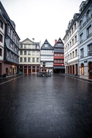 空旷的街道