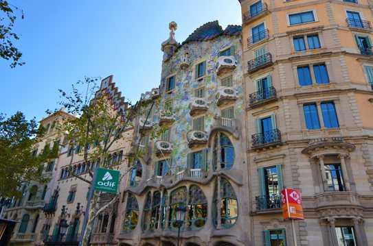 西班牙巴塞罗那巴特罗之家图片