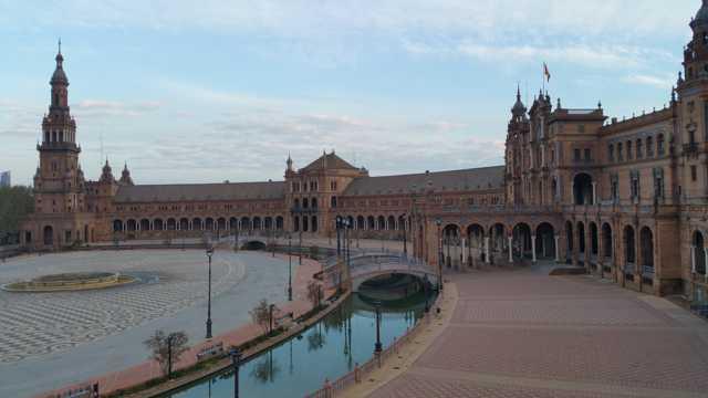西班牙广场建筑景观