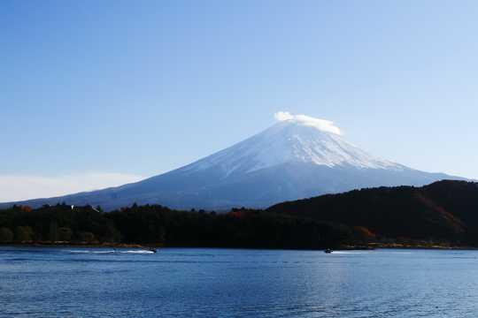 迷人的富士山