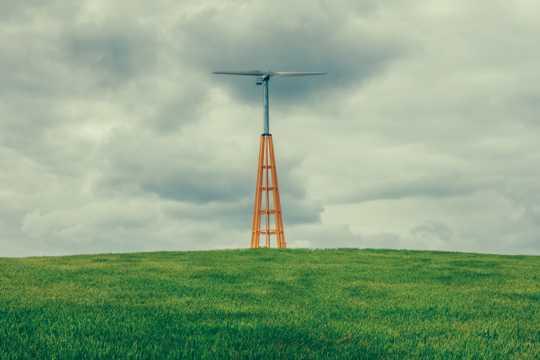 原野电力风车图