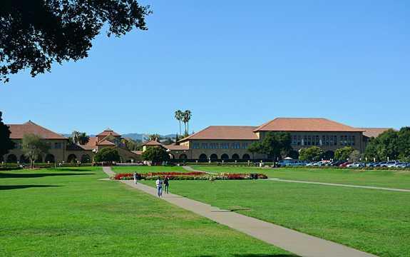 美国斯坦福大学风光图片