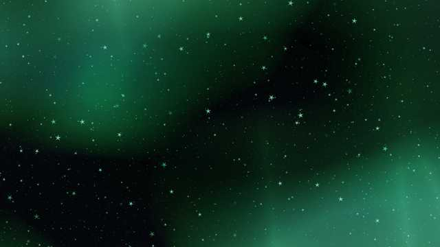 唯美夜空景象图片