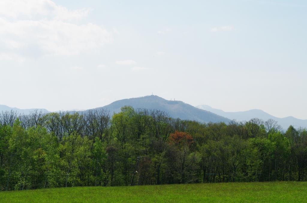 从延冈天文台观看的Moiwa山免费照片