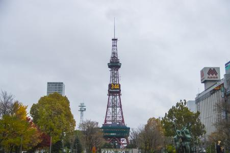 札幌电视塔的照片