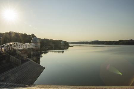 多摩湖(村山保留的池塘)免费照片