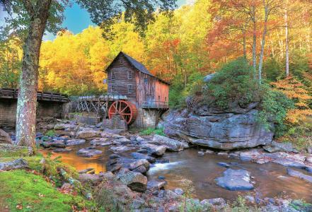 唯美的森林小屋