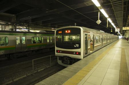 JR Nikko Line 205 series免费图片