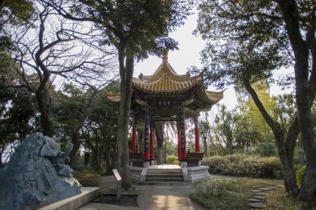 江之岛的江之岛的中国馆免费照片