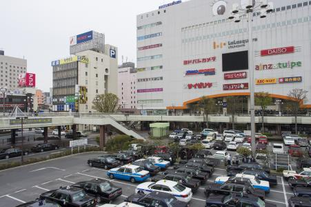 JR Utsunomiya Ekimae停车场免费照片