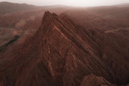 俯瞰洛基山