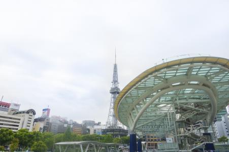 绿洲21和名古屋电视塔的免费素材