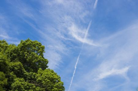 空中云免费库存照片