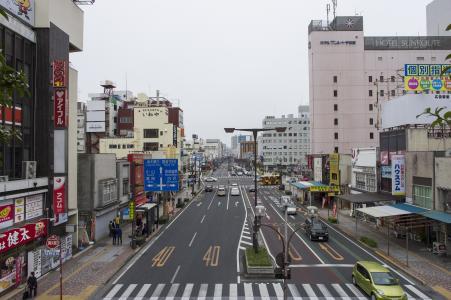 宇都宫站正面照片