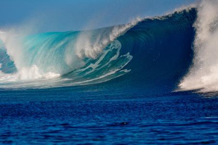 汹涌的海浪