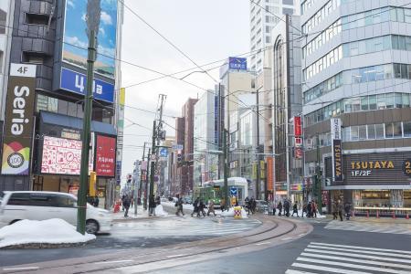 免费图片在札幌大道4块匾