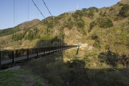 Kinida Shidohi Suspension Bridge免费股票照片