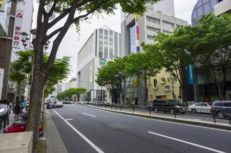 名古屋市荣街道免费材料