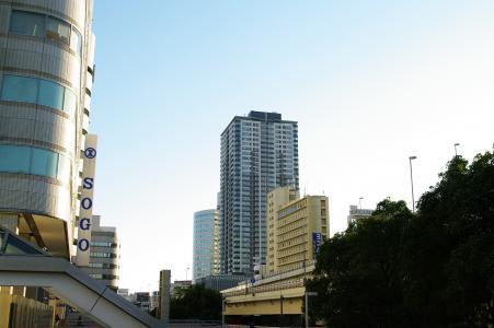 在横滨站附近的免费图片