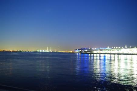 夜景 - 免费的横滨海的照片素材