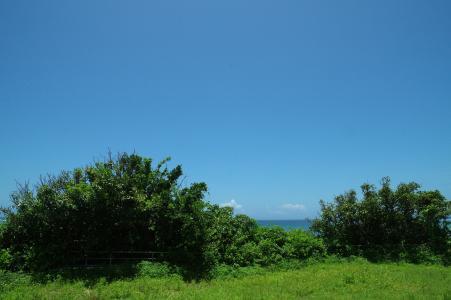 冲绳的自然和天空免费照片素材