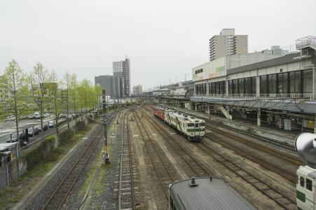 JR Utsunomiya站家和乌丸线免费图片
