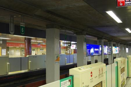 地铁南北线大通站免费照片