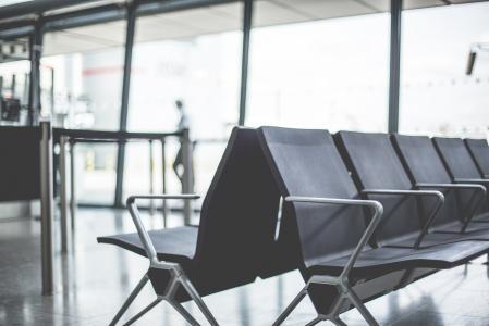 机场等候休息室
