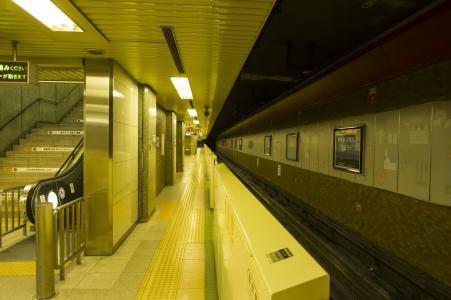札幌市营地铁东西线西11丁目站免费照片