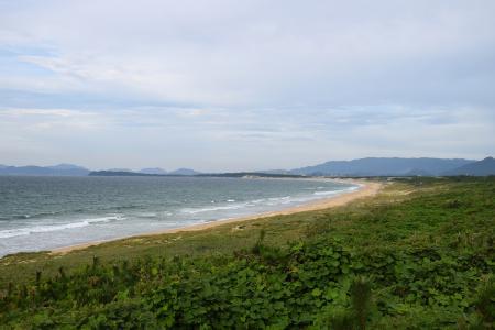 海的中间部分免费图片
